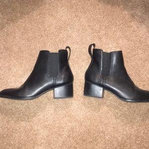 Black Chelsea booties